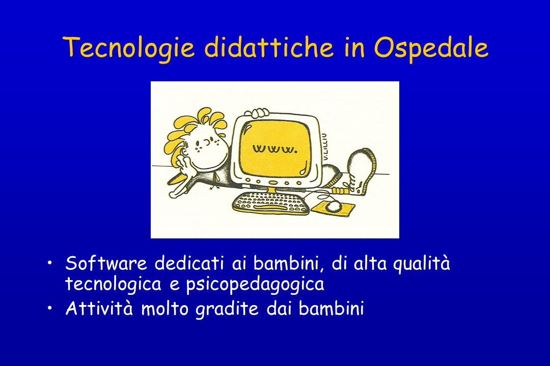 Tecnologie didattiche in Ospedale