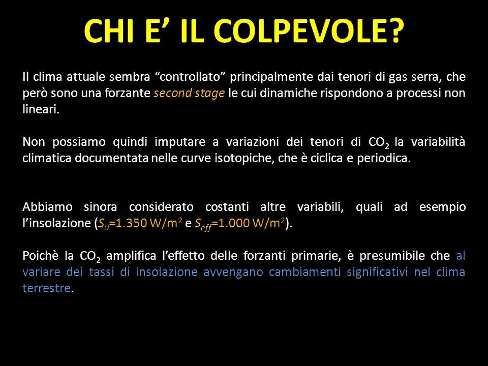 CHI E' IL COLPEVOLE