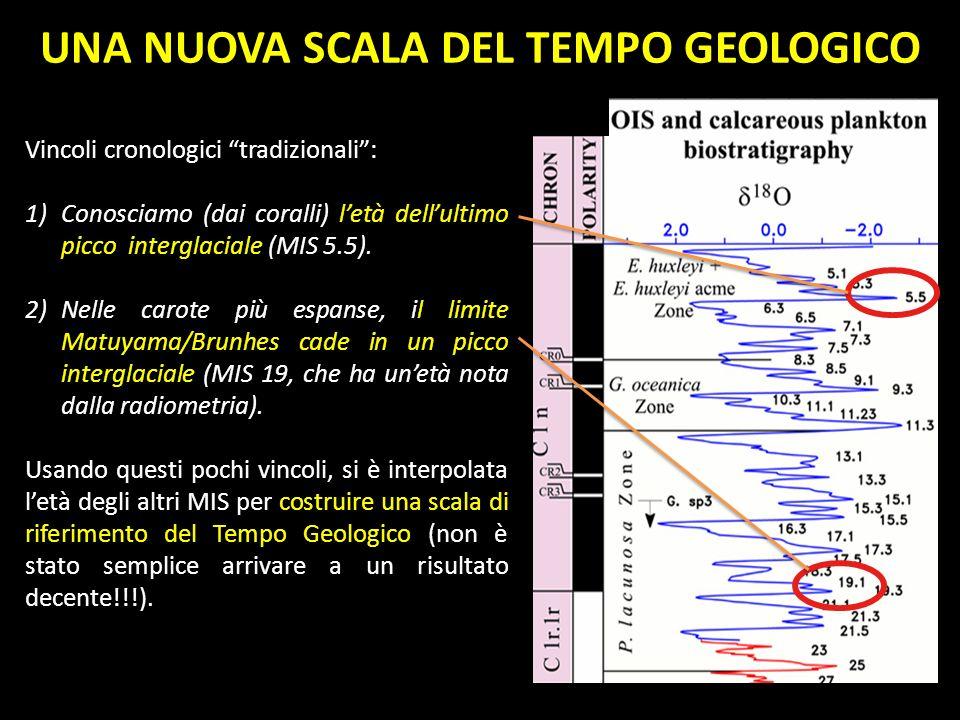UNA NUOVA SCALA DEL TEMPO GEOLOGICO