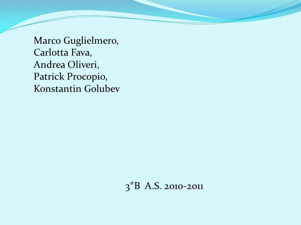 Marco Guglielmero, Carlotta Fava, Andrea Oliveri, Patrick Procopio, Konstantin Golubev.
