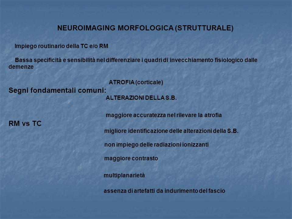 NEUROIMAGING MORFOLOGICA (STRUTTURALE)