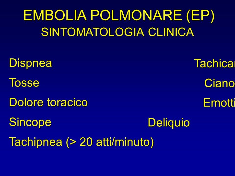 EMBOLIA POLMONARE (EP)