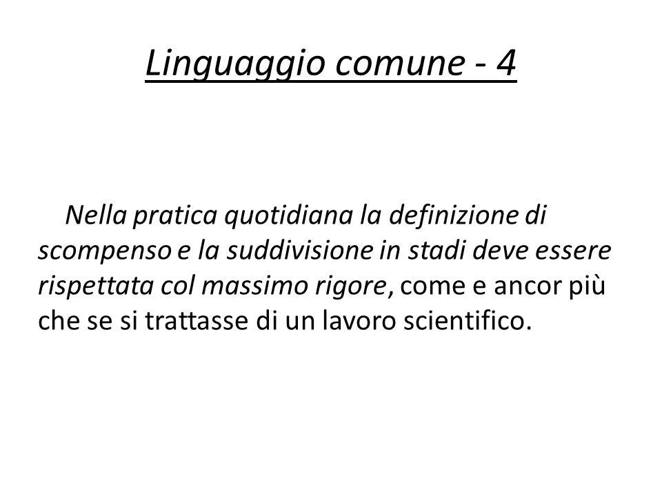 Linguaggio comune - 4