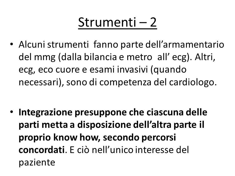 Strumenti – 2