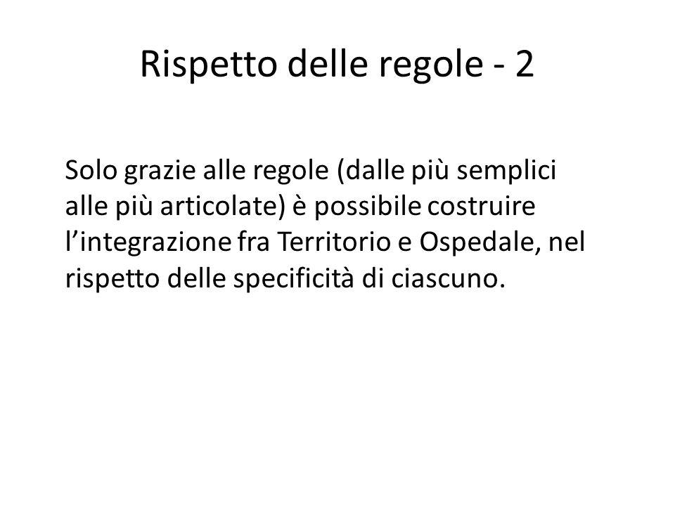 Rispetto delle regole - 2