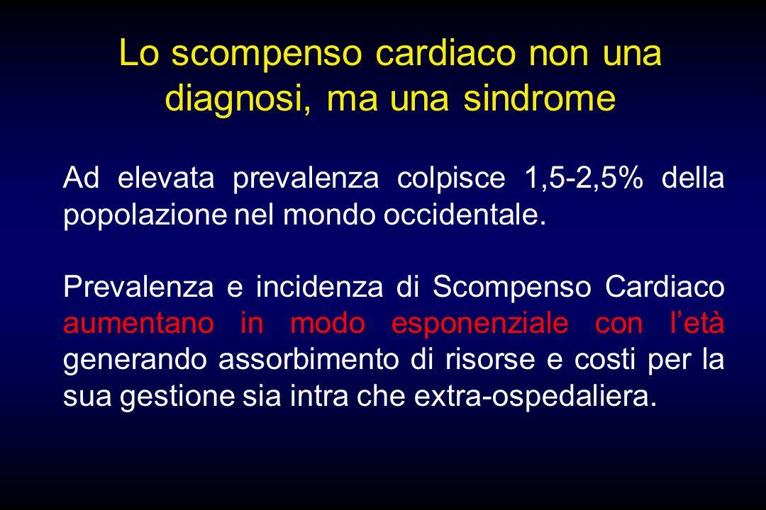 Lo scompenso cardiaco non una diagnosi, ma una sindrome