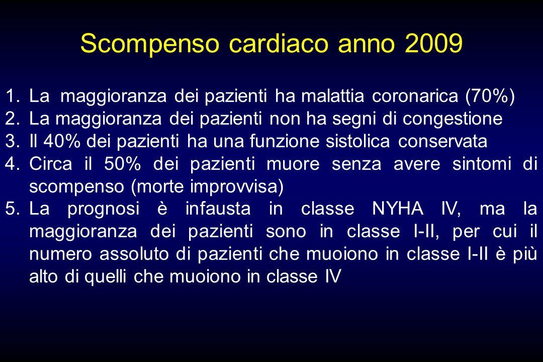 Scompenso cardiaco anno 2009