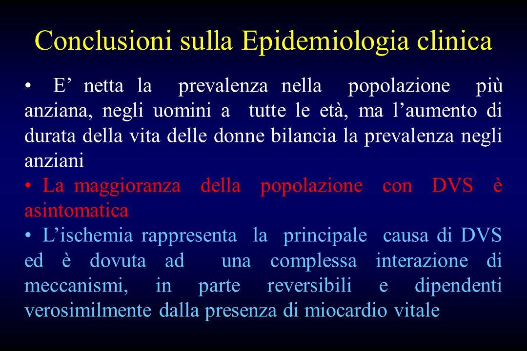 Conclusioni sulla Epidemiologia clinica