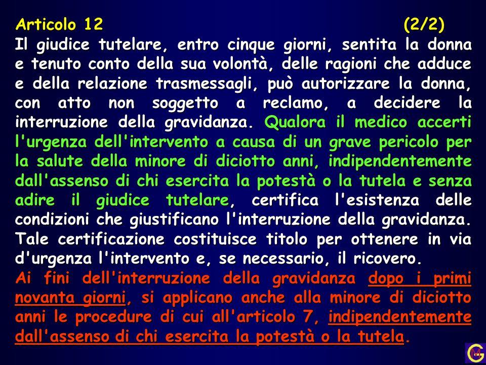 Articolo 12 (2/2)
