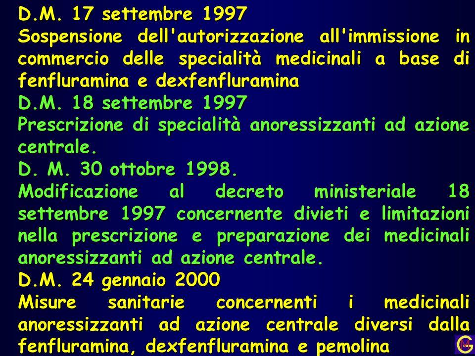 D.M. 17 settembre 1997
