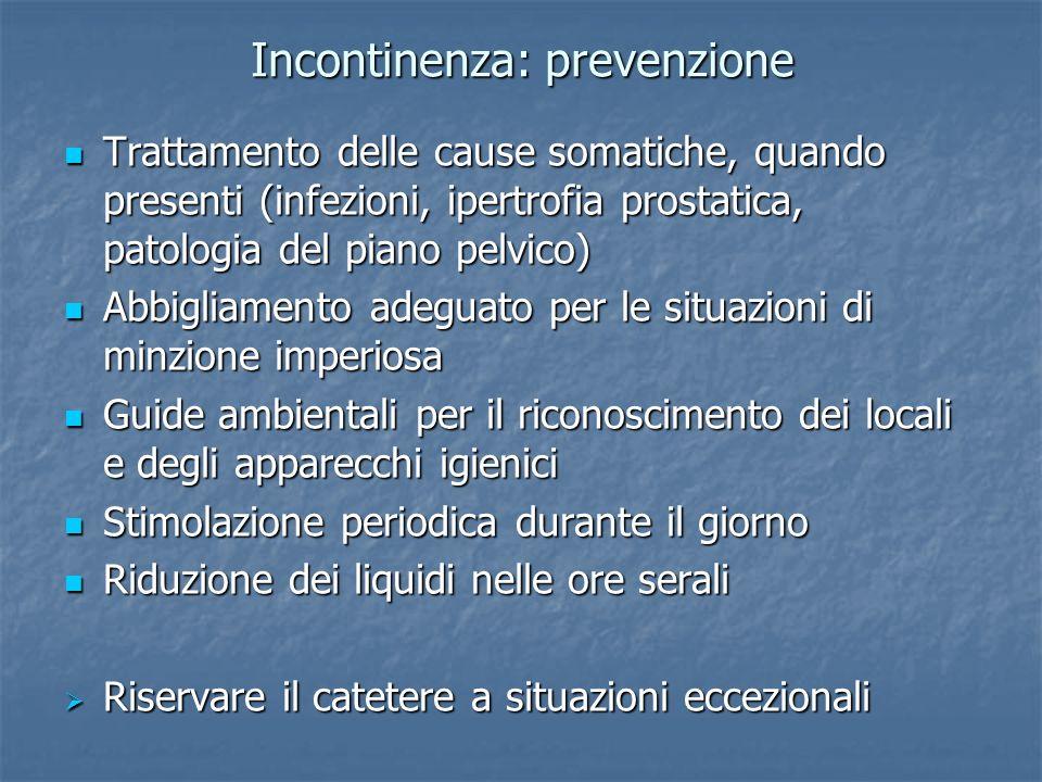 Incontinenza: prevenzione