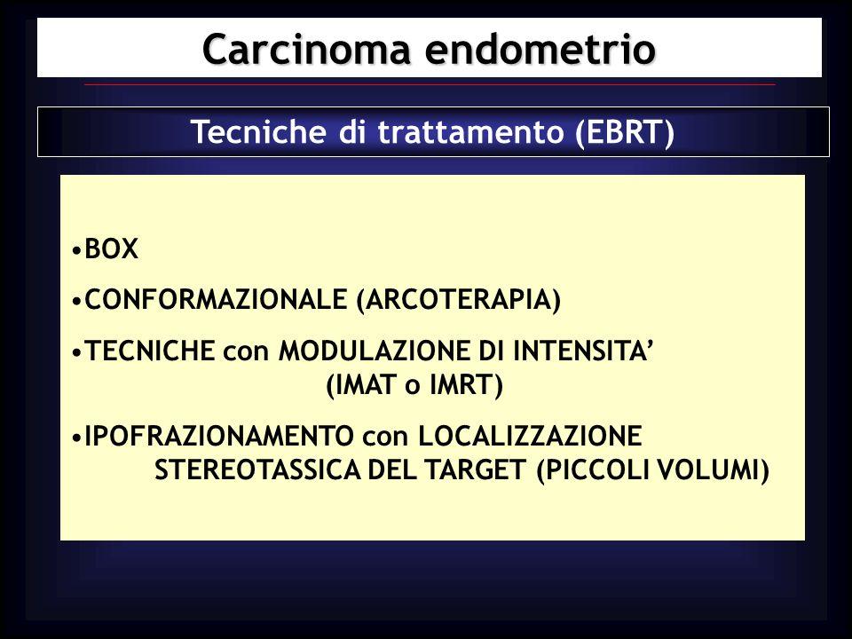 Tecniche di trattamento (EBRT)