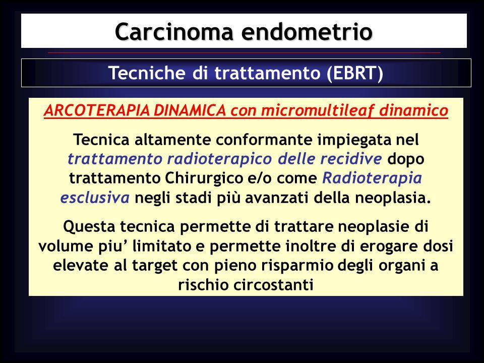 Carcinoma endometrio Tecniche di trattamento (EBRT)