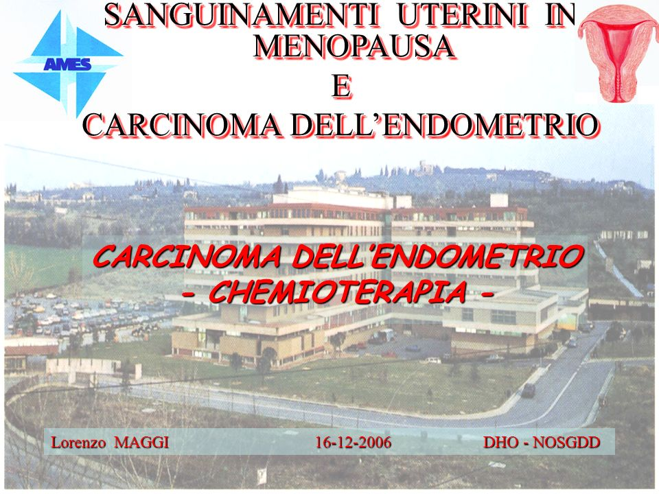 CARCINOMA DELL'ENDOMETRIO