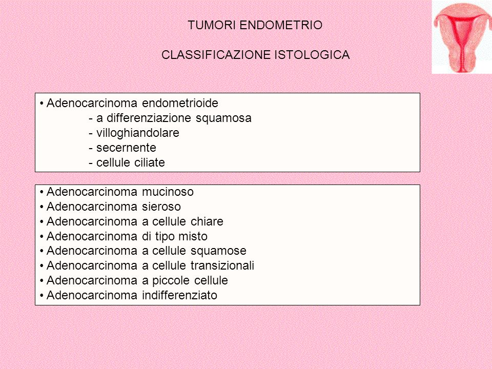 CLASSIFICAZIONE ISTOLOGICA