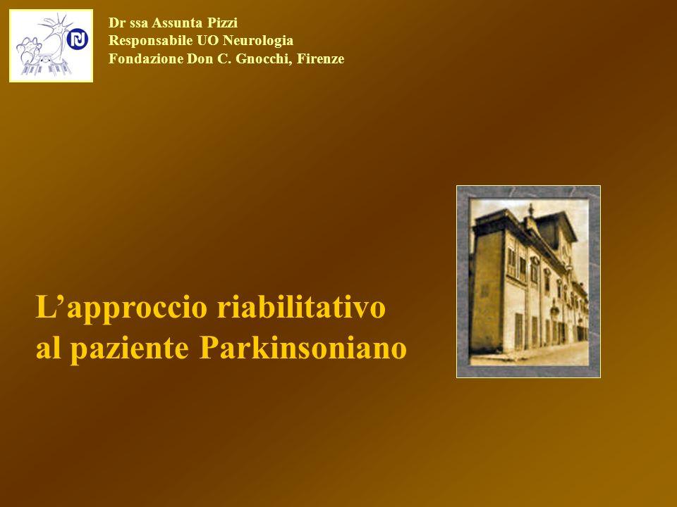 L'approccio riabilitativo al paziente Parkinsoniano
