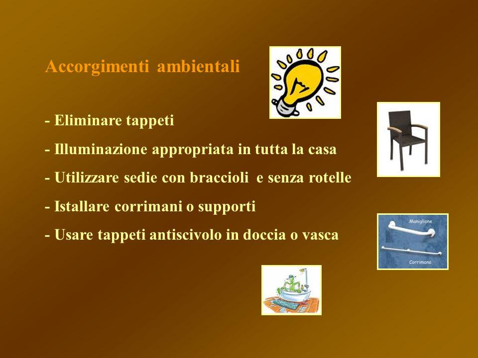Accorgimenti ambientali