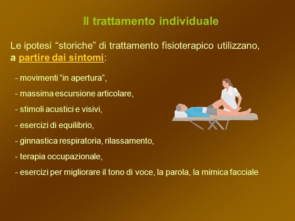 Il trattamento individuale