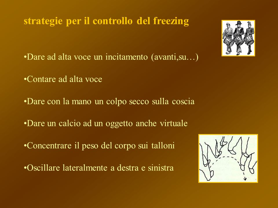 strategie per il controllo del freezing
