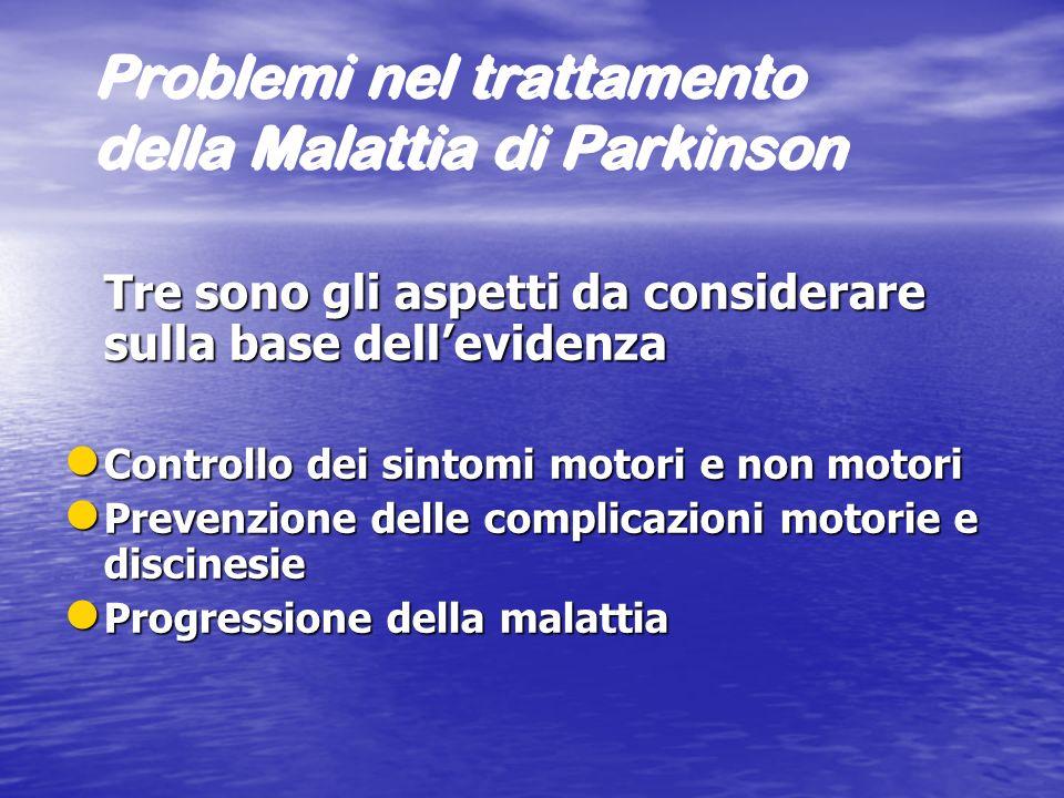 Problemi nel trattamento della Malattia di Parkinson