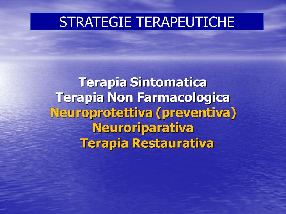 Terapia Non Farmacologica Neuroprotettiva (preventiva)