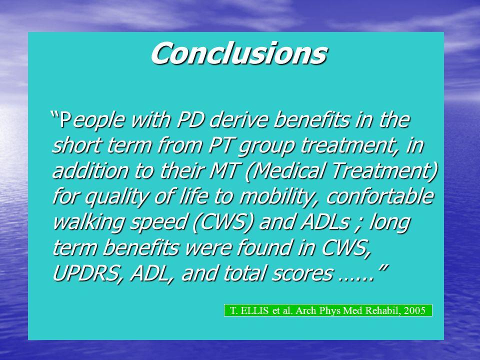T. ELLIS et al. Arch Phys Med Rehabil, 2005