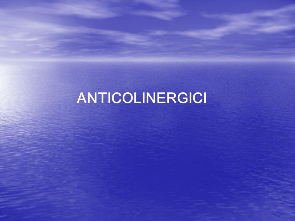 ANTICOLINERGICI