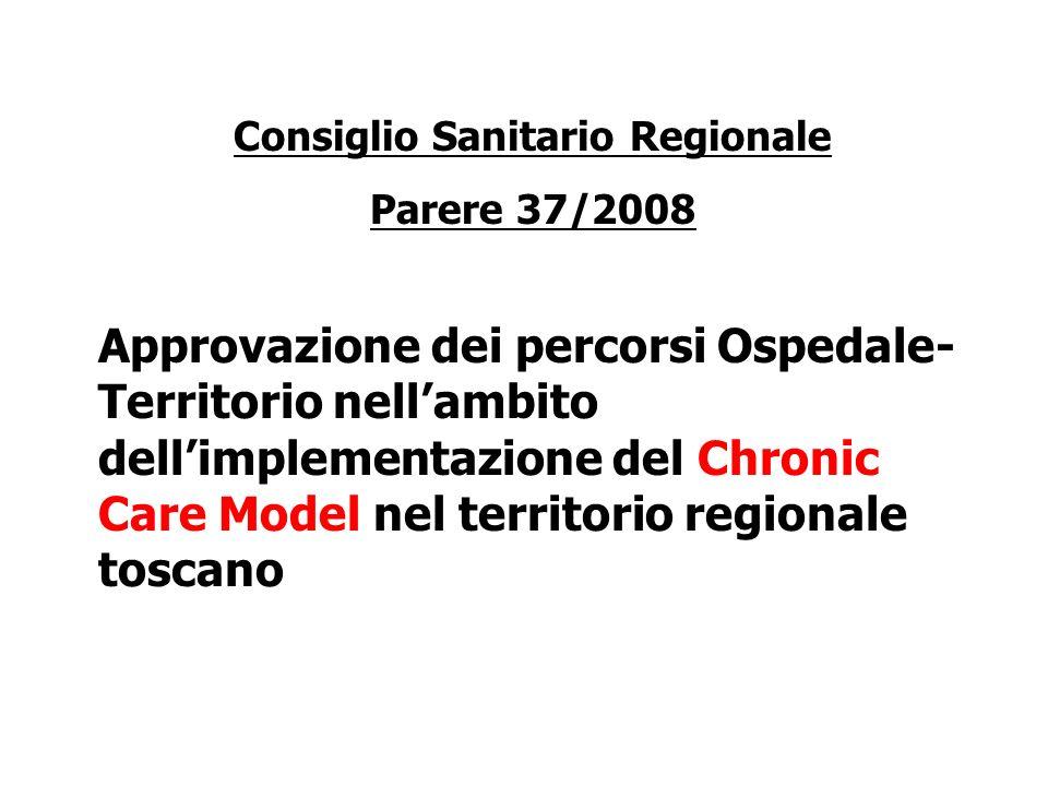 Consiglio Sanitario Regionale
