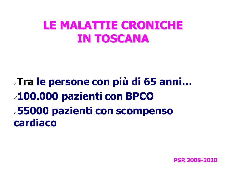 LE MALATTIE CRONICHE IN TOSCANA