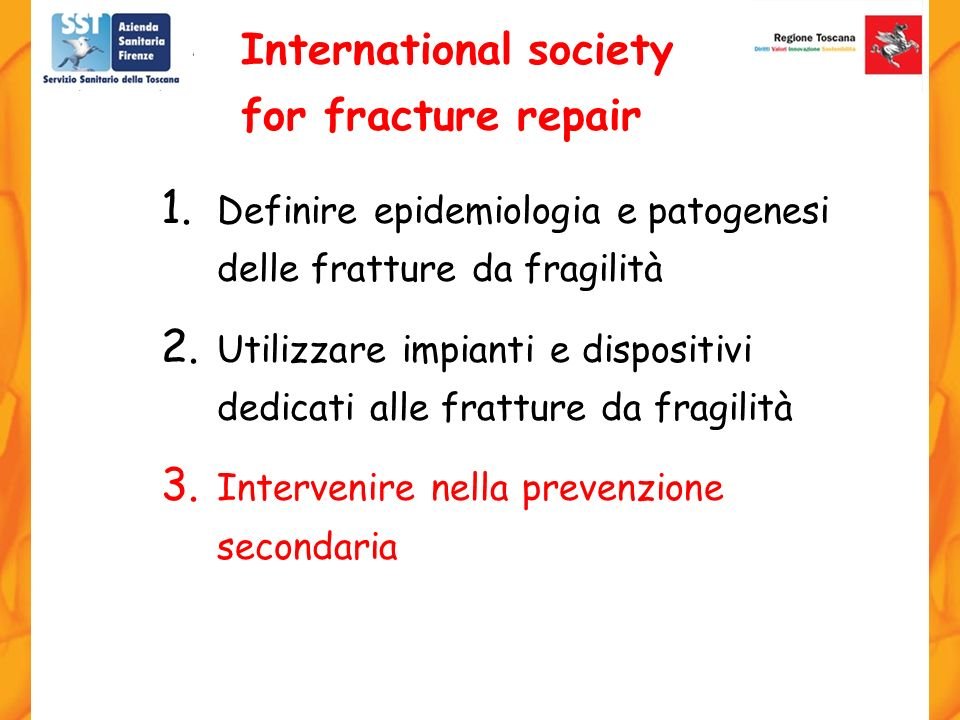 International society for fracture repair