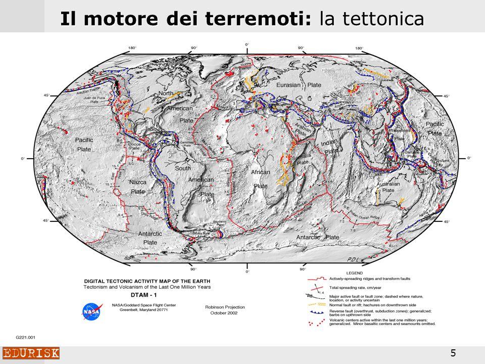 Il motore dei terremoti: la tettonica globale