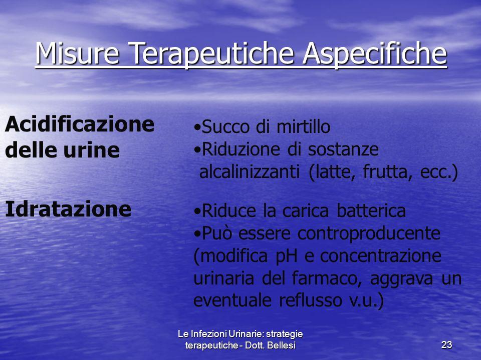 Misure Terapeutiche Aspecifiche