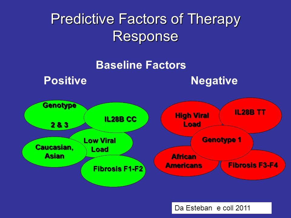 Predictive Factors of Therapy Response