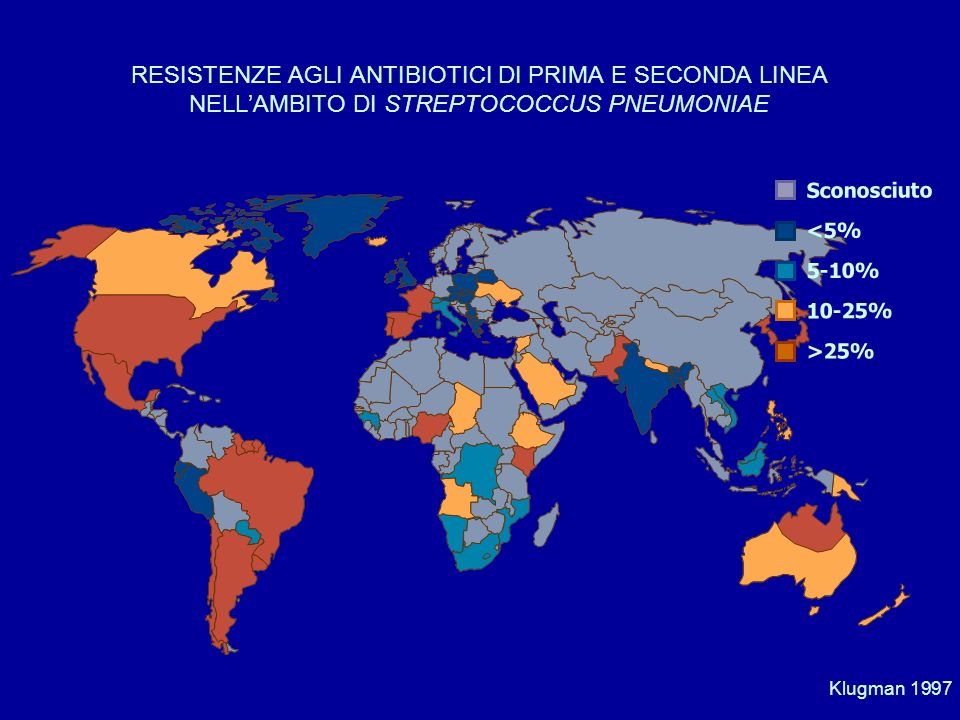 RESISTENZE AGLI ANTIBIOTICI DI PRIMA E SECONDA LINEA NELL'AMBITO DI STREPTOCOCCUS PNEUMONIAE