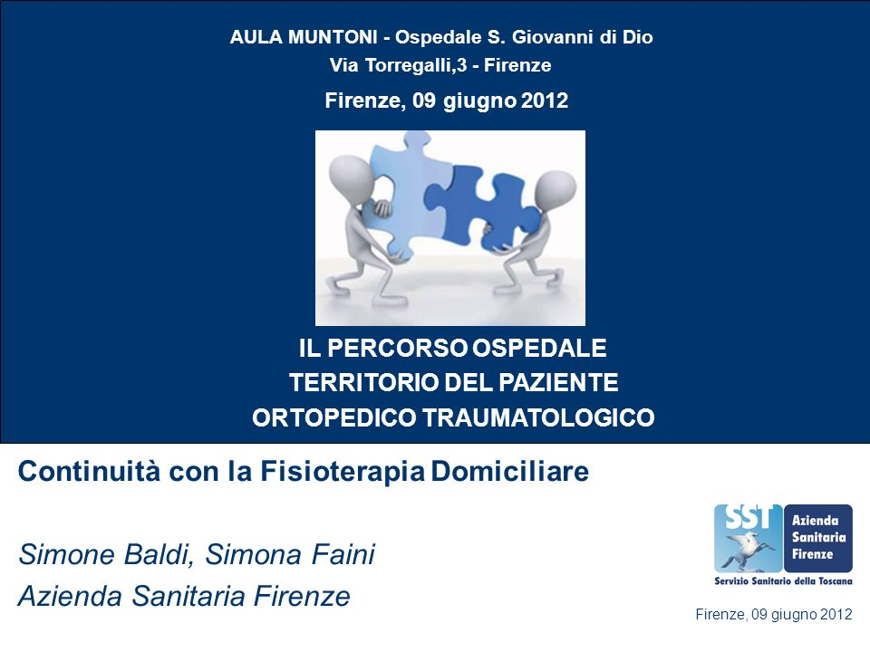Continuità con la Fisioterapia Domiciliare Simone Baldi, Simona Faini