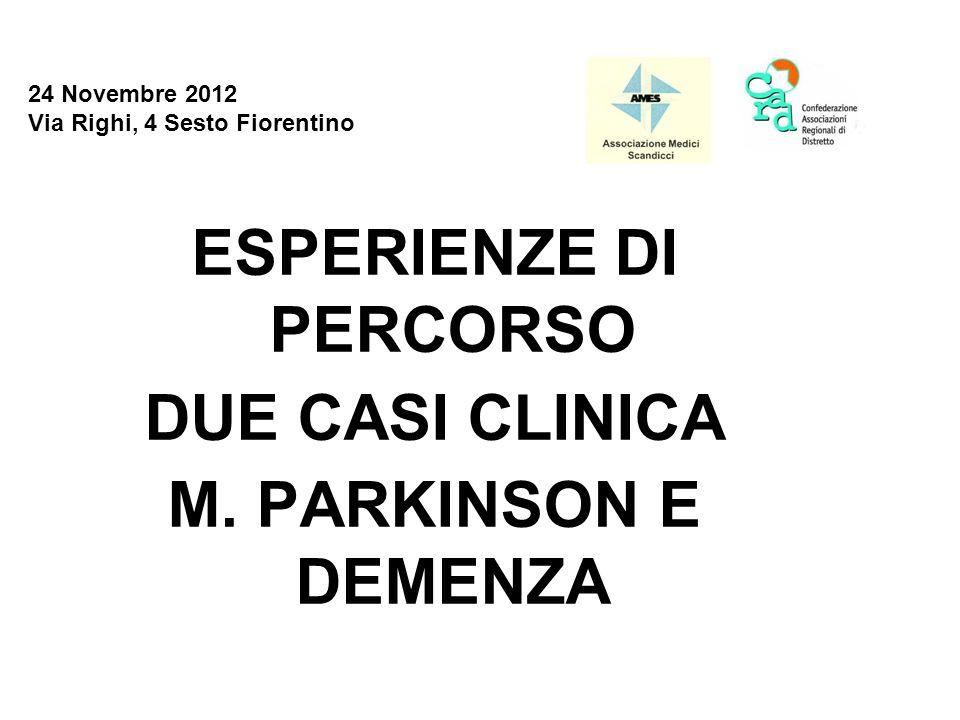 24 Novembre 2012 Via Righi, 4 Sesto Fiorentino