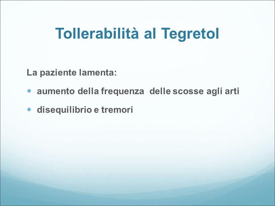 Tollerabilità al Tegretol