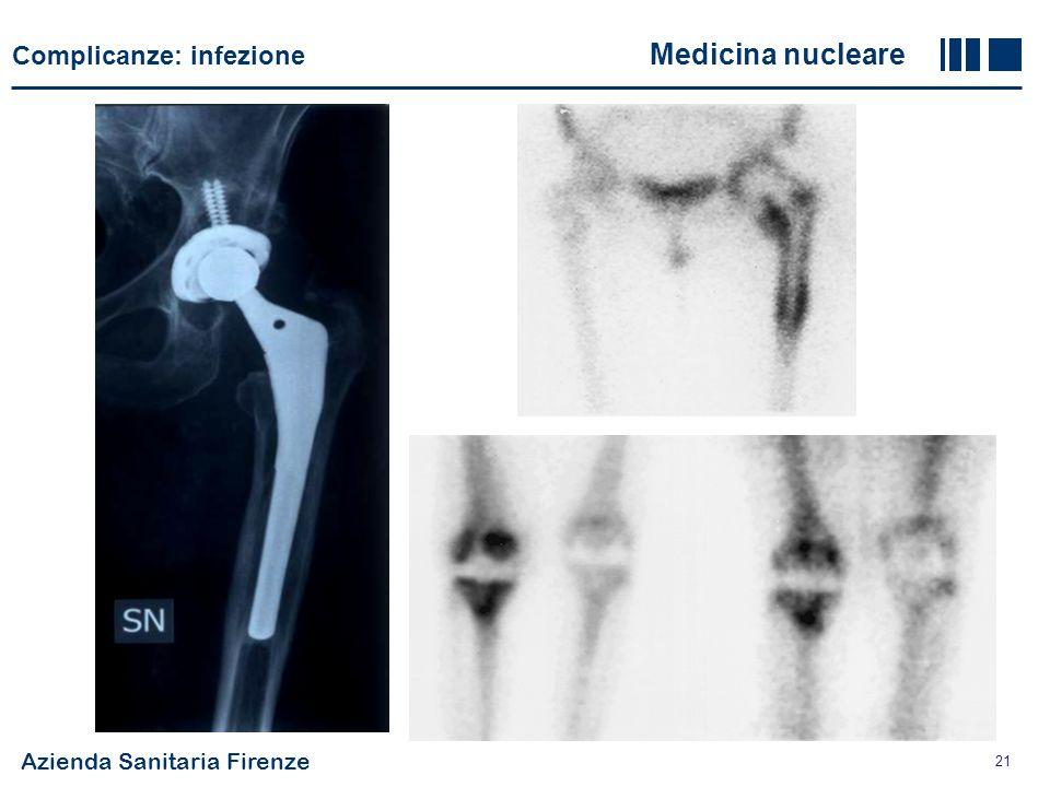 Complicanze: infezione Medicina nucleare