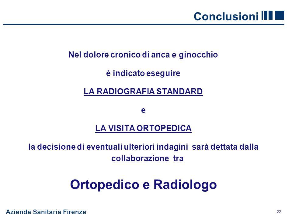 Ortopedico e Radiologo