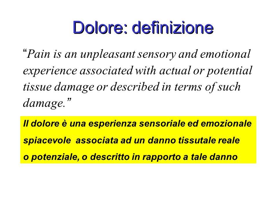 Dolore: definizione