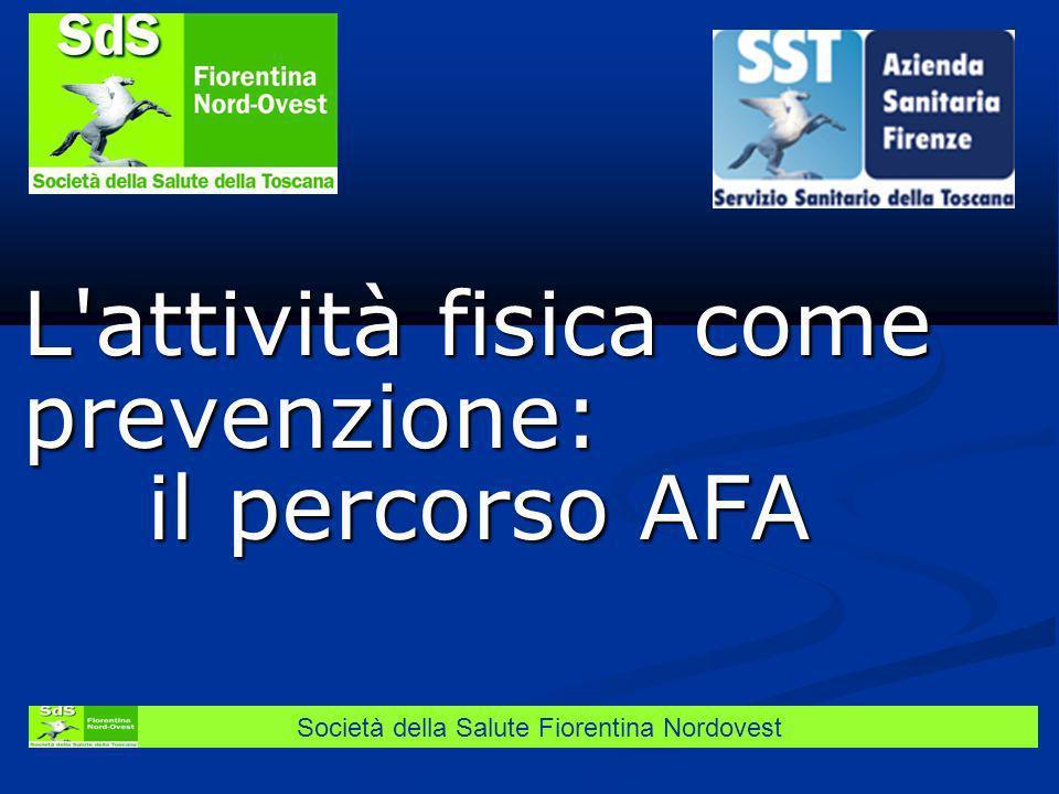 L attività fisica come prevenzione: il percorso AFA