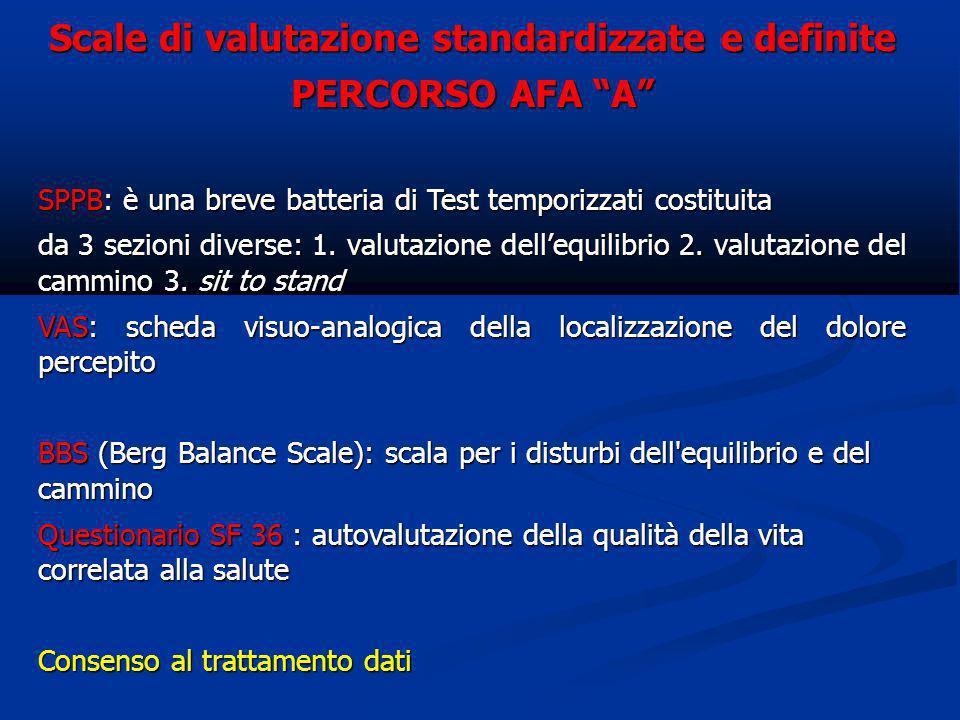 Scale di valutazione standardizzate e definite