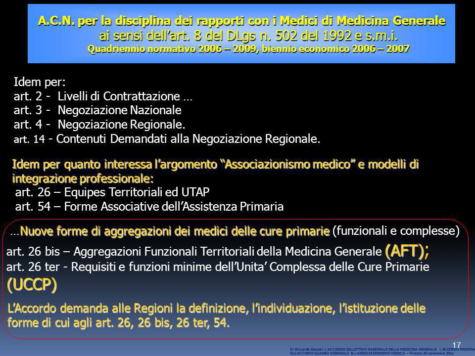 art. 2 - Livelli di Contrattazione … art. 3 - Negoziazione Nazionale
