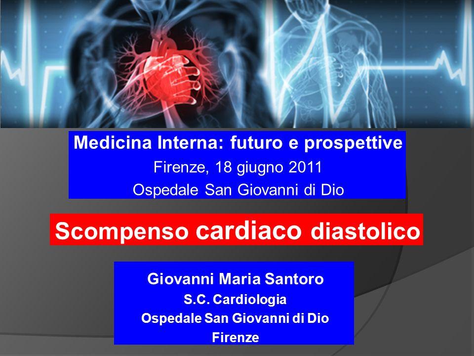 Scompenso cardiaco diastolico