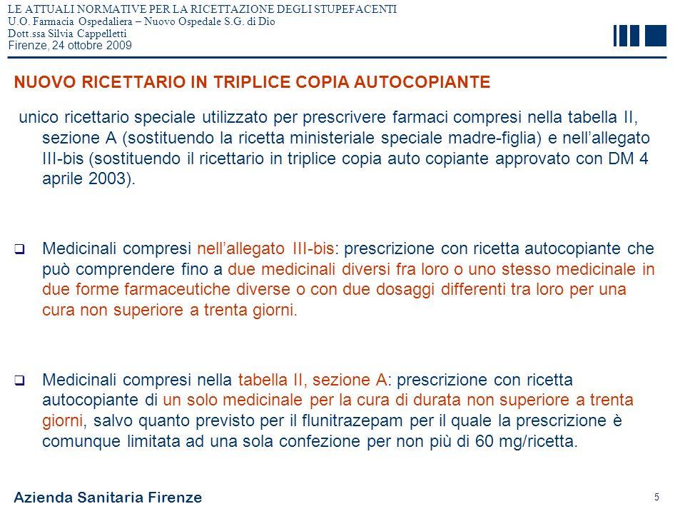 NUOVO RICETTARIO IN TRIPLICE COPIA AUTOCOPIANTE