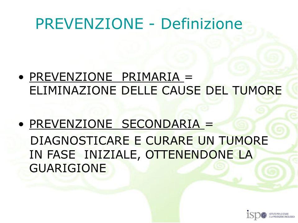 PREVENZIONE - Definizione