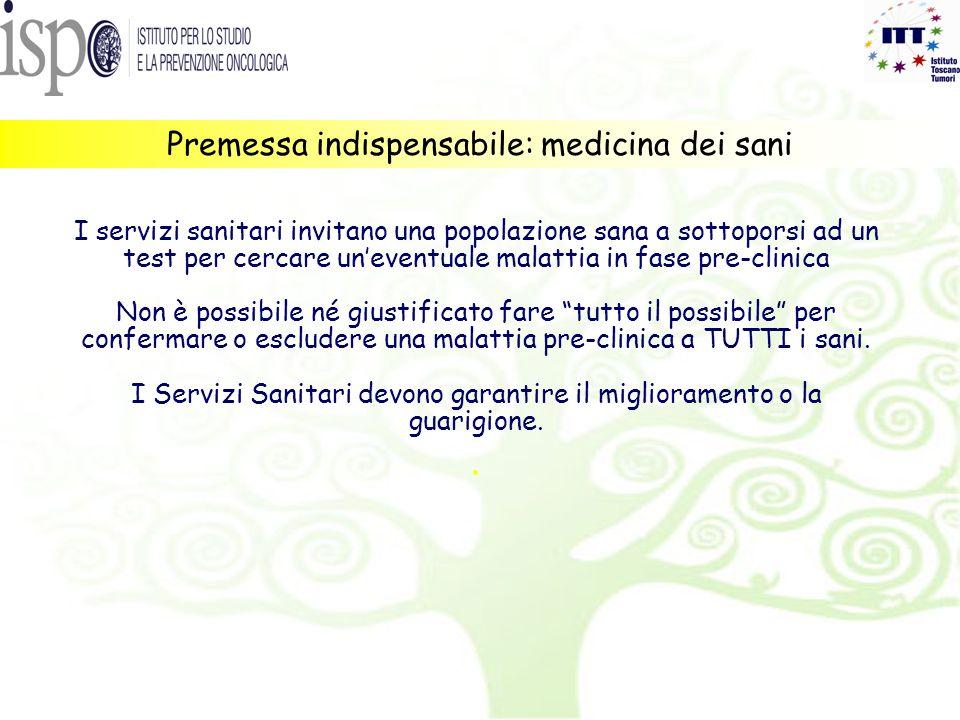 Premessa indispensabile: medicina dei sani