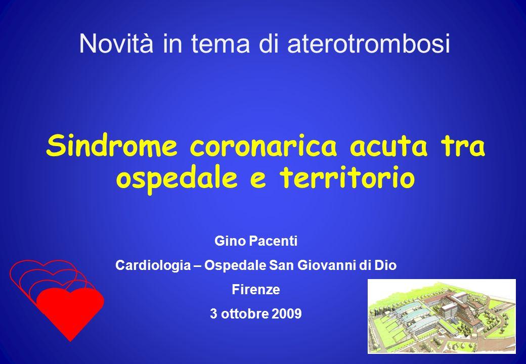 Sindrome coronarica acuta tra ospedale e territorio