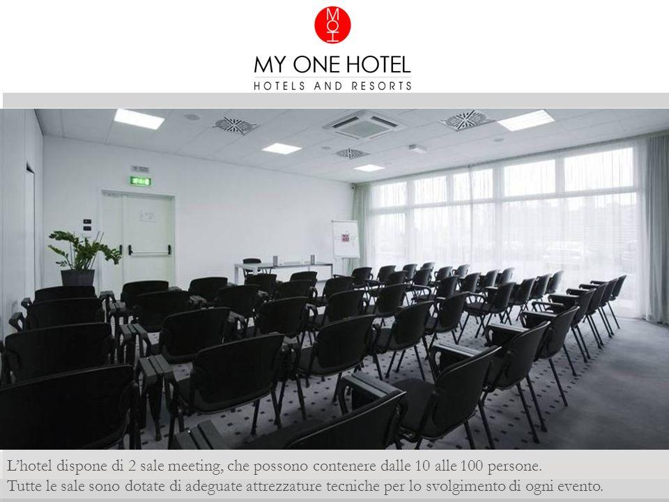 L'hotel dispone di 2 sale meeting, che possono contenere dalle 10 alle 100 persone.