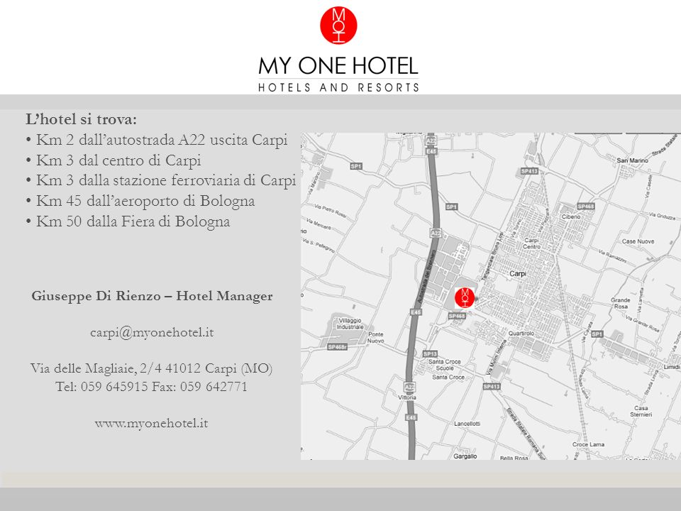 Giuseppe Di Rienzo – Hotel Manager